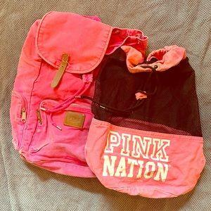 Pink bag bundle